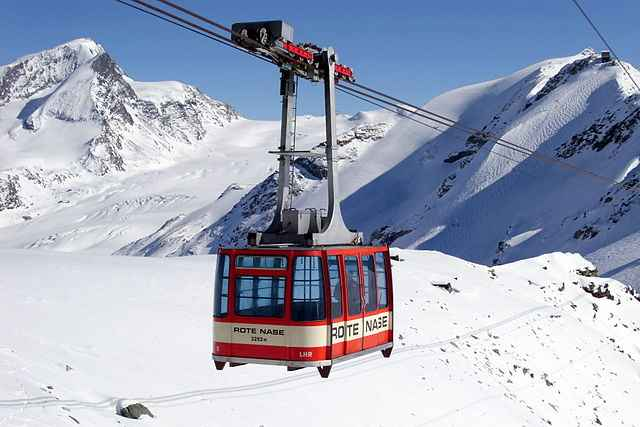 cable lift snow